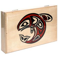 Alaska Smokehouse Smoked Salmon Fillet in Wood Gift Box, Assorted Designs, 8-Ounce Each (Pack of 2) $26.49