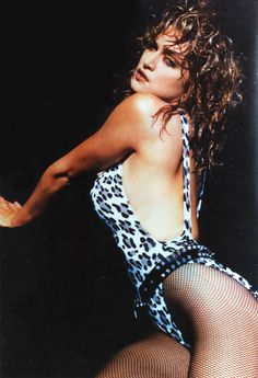 Madonna / 80s / Leotard pretty sure I had this poster when I was little... Not exactly a little girls poster!