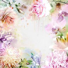 акварельный фон цветы: 23 тыс изображений найдено в Яндекс.Картинках
