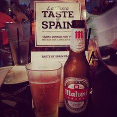 Mahou... Taste of Spain