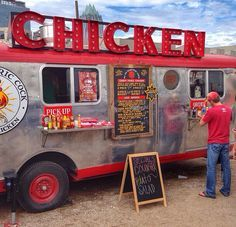 You can get your chicken from this food truck!