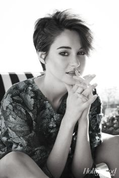 Shailene Woodley...aka Hazel Grace from The Fault In Our Stars