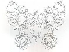 Schema/Pattern farfalla a chiacchierino