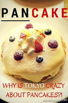 While in Tokyo we did something I never though we would ever do; we queued for over an hour just for a plate of pancakes!! Yep, PANCAKES! The Tokyoites are crazy about pancakes, why?!