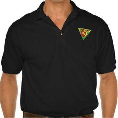 DeAngelis Martial Arts Black Polo Shirt