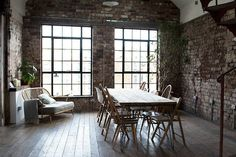 Workspace inspiration: an industrial style collaborative space