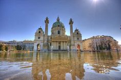 Karlskirche Vienna, One of the most beautiful churches in Europe