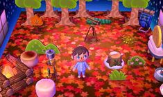 Camping in the woods. From the dream town of Pink Sea (dream address 5100-2140-1457)