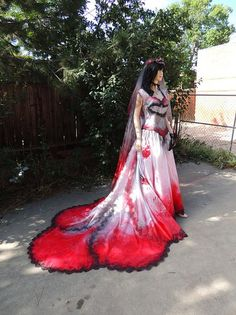 I found 'Blood Drenched Aristocratic Vampire Countess PLUS SIZE' on Wish, check it out!