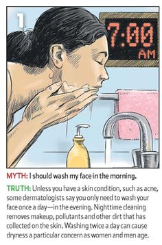 Dermatologists' Advice on Washing Your Face: Easy Does It by wsj: Seems like many of us are over doing it. Click through for all five 'myths'. #Face_Washing