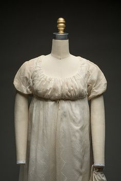 Dress, 1803-10 From Historic Deerfield Museum