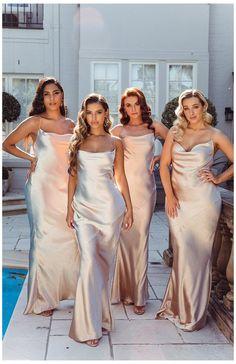 Bridesmaid Rompers, Champagne Bridesmaid Dresses, Modest Bridesmaid Dresses, Wedding Bridesmaids, Lace Dresses, Champagne Dress, Bridesmaid Color, 60s Dresses, Black Bridesmaids