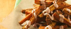 Tired of French fries? Switch to spiced-up sweet potato fries for your next burger or barbecue meal.