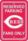 Cincinnati Reds Parking Sign 12 In.x 18 In.