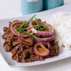 In a bowl, combine the soy sauce, lime juice, and sugar until the sugar dissolves. Marinate with the beef shaved…