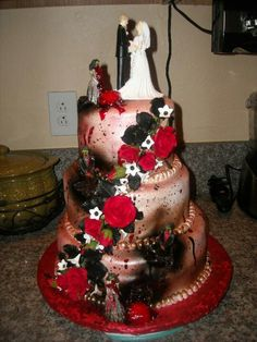 zombie wedding cake - Halloween Wedding Cakes Pictures