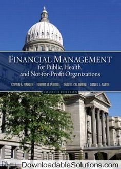Financial management theory practice 14th edition free solution manual for financial management for public health and not for profit organizations edition solutions manual and test bank for textbooks fandeluxe Images
