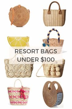 Vacation ready with these resort bags under $100!