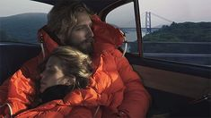 grey Annie Leibovitz For Moncler FW 14 Campaign. Use of emotional connection in print