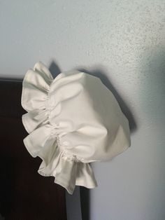 This Item is in stock and ready to ship. If you don't see the size/edge finish you need or need a custom size, please feel free to contact us! This is a prairie/colonial night cap is perfect to keep your hair out of your way well sleeping, keeping warm and creating a historic look and night cap comes with your choice of fabric ruffle, lace, or plain. The sizing for age and/or head circumference: Small: Ages 3-7 years | Head circumference 20 1/2 -22 inches 52-56 centimeters Medium: Ages 6-16 year Pioneer Bonnet, Pencil Case Tutorial, I Just Need You, Baby Bonnets, Keep Warm, Organic Cotton, Cap, Night, Fabric