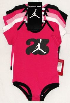 Baby Girl Jordan Clothes Pleasing Jordan Aj's Sporty Romper Threepiece Infant Girls' Setnike Store Design Inspiration
