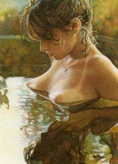 Steve Hanks - Watercolour