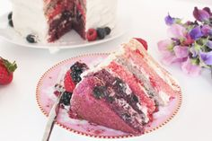 Summer Fruits Cake