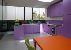 This post is also available in: Italian Introducing Ultra Violet, Pantone colour of the year A dramatically provocative and thoughtful purple shade, PANTONE . Modern Architecture Design, Interior Decorating, Interior Design, Decorating Ideas, Modern Kitchen Design, Modern Kitchens, Kitchen Designs, Futuristic Design, Contemporary Interior