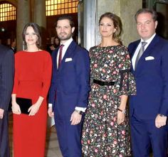 Sofia, Carl Philip, Madeleine and Chris - December 2018