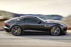 The new Jaguar F-Type Coupe is just spectacular.