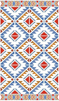 Navajo aztec border vector illustration page navajo for Native american tile designs