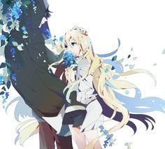 Rachel x Zack Beautiful Anime Girl, Anime Love, Anime Guys, Manga Anime, Beautiful Dream, Angel Of Death, Anime Friendship, Anime Group, Character