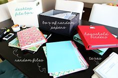 Organizing Paper Clutter | iHeart Organizing