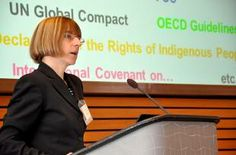 Babette Wehrmann, Freelance Consultant, Germany: (How land governance can become a part of CSR)  There is a need to keep land governance high on the development agenda. But there must be a business case for companies, governments to respect responsible land governance. This is not just visionary, its something some companies already do.