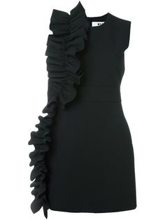 Shop MSGM ruffle detail dress in Satù from the world's best independent boutiques at farfetch.com. Shop 400 boutiques at one address.