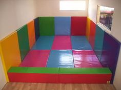 1 X Soft Play Safety Wall Padding Thick for sale