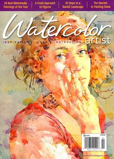 Ted Nuttall's work featured in Watercolor Artist Magazine, February, 2014 issue.