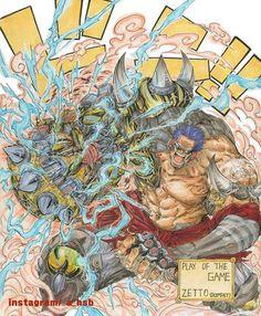 One Piece x Overwatch | #25 - Z  (Doomfist)