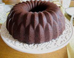 Delightful Chocolate-Sour Cream bundt cake
