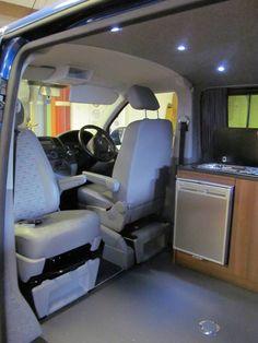 VW T5 Swivel Seat Base Van InteriorCamper