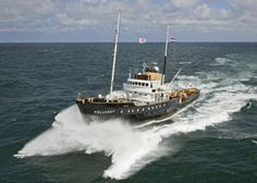 Offshore Boats, Classic Yachts, Tug Boats, Wooden Boats, Deep Sea, Paddle, Sailing Ships, Lighthouse, Holland
