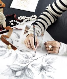 Ole Lynggaard Copenhagen—Page 96 Best Sketchbook, Sketchbook Ideas, Charlotte, Creative Journal, Art Journal Pages, Copenhagen, Illustration Art, Artsy, Gift Wrapping