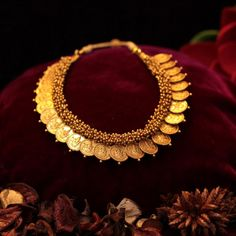 Kaasu Maalai Haar in temple jewellery necklace collection Necklace