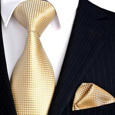 The Printed Music Tie Set is a divine design and is perfect for the music lover! Hand stitched brilliant gold silk under rich black and white silk create a harmonic sheet music masterpiece! Suit Fashion, Mens Fashion, Fashion Tips, Gold Tie, Tie Set, Tie And Pocket Square, Black Suits, Suit And Tie, Gentleman Style