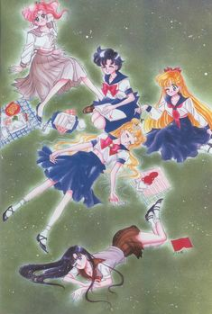 美少女戦士セーラームーン原画集 Bishoujo Senshi Sailor Moon Original Picture Collection Vol.1 - Drawn for the 1993 calendar by Naoko Takeuchi