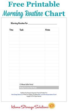 Free printable morni