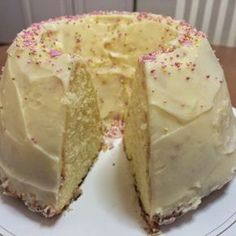Swedish Recipes, Sweet Pastries, Little Cakes, Sweet And Salty, Coffee Cake, Vanilla Cake, Cake Recipes, Sweet Tooth, Food And Drink