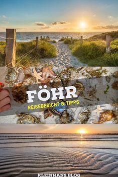 Wir sind föhrverliebt - die Insel Föhr hat alle Zutaten für einen perfekten Urlaub an der Nordsee. Kilometerlangen Strand, atemberaubende Sonnenunteränge und ganz viel Natur. Wir verraten die alle Sehenwürdigkeiten und Ausflüge in der friesischen Karibik. Urlaub in Deutschland - auf Föhr kann er kaum schöner sein.  #Nordsee #Deutschland #Ausflug #UrlaubmitKinder Holiday Destinations, Destinations
