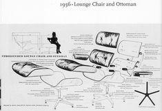 despiece lounge chair eames