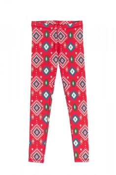 LEGGINSY TERMICZNE/FIRST LAYER LEGGINGS PAMO aztec